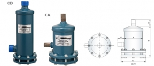 Refrigerant Demountable Filter-Drier Shell