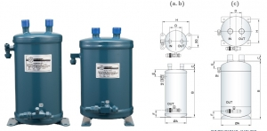 Refrigerant Heat Exchanger Suction Accumlators
